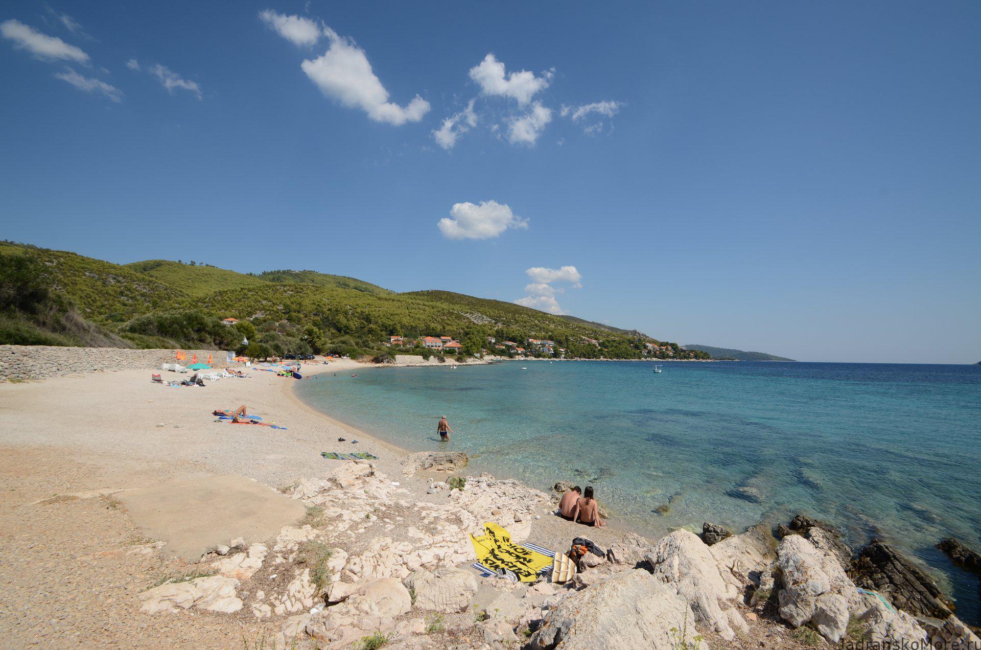 korcula-prizba-beach