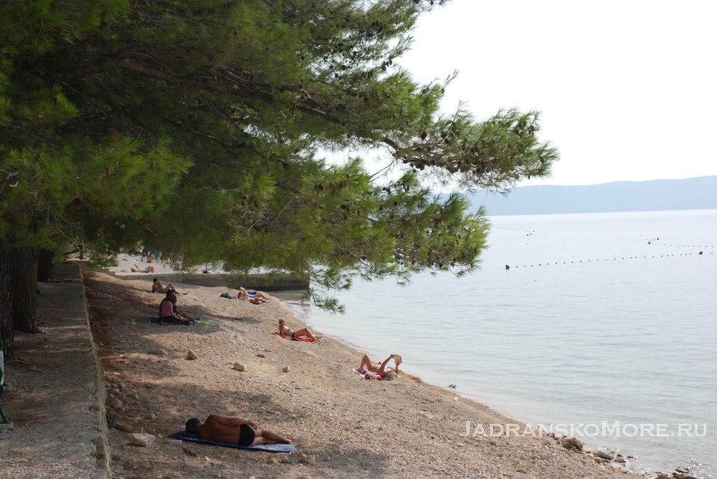 Zivogosce Porat beach 1