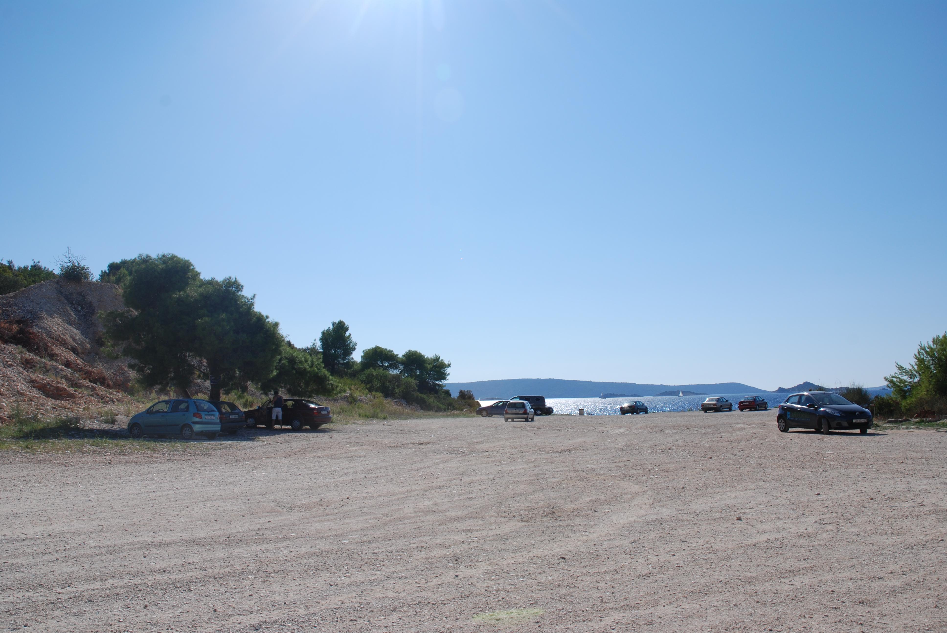Пляж в карьере