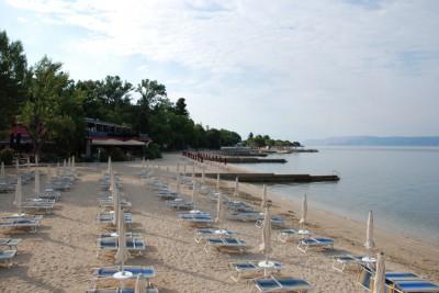 Центральный городской пляж в Цриквенице