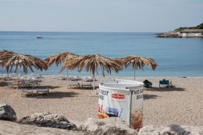 Пляж Купари рядом с Дубровником