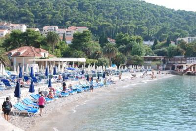 Пляж Увала Лапад в Дубровнике