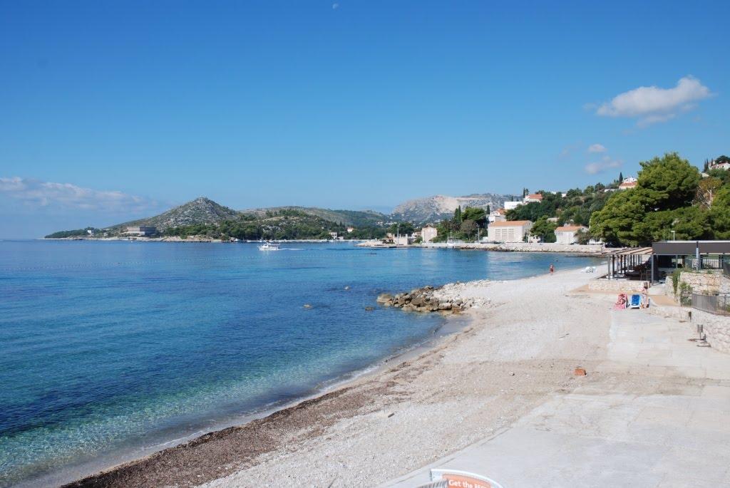 Mlini beach