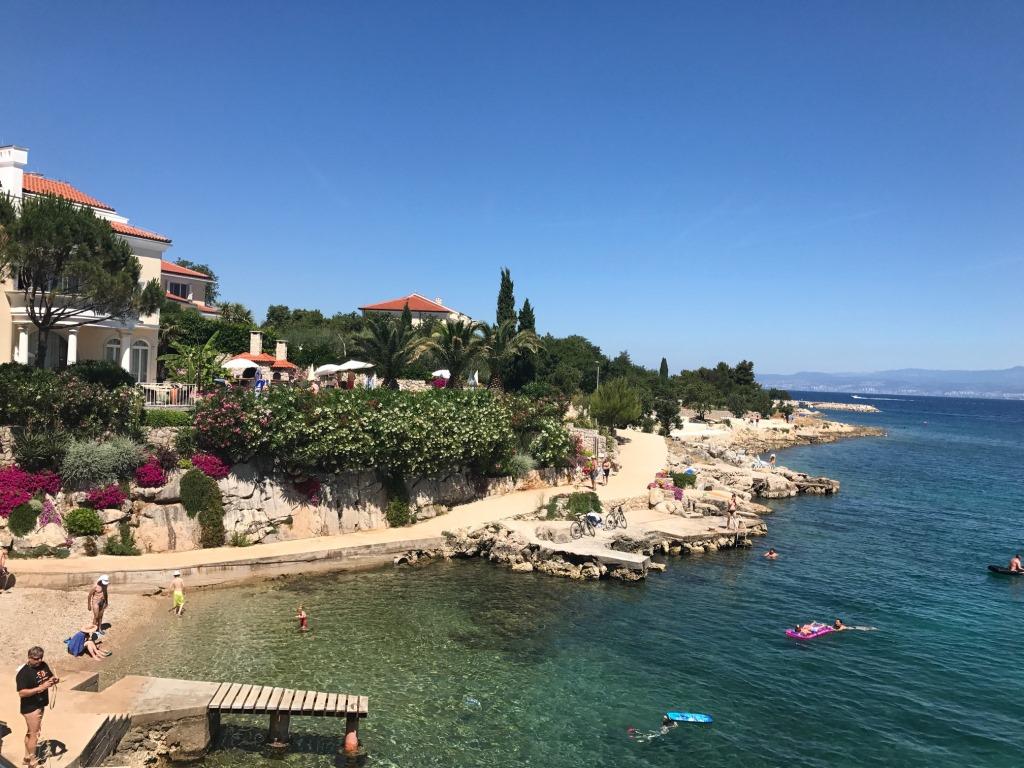 Отзыв об отдыхе в Башке и Малинске на острове Крк