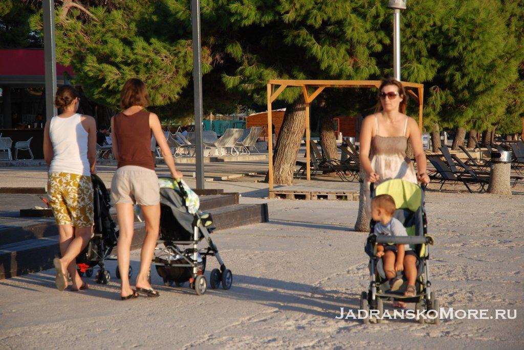 Курорты Хорватии для детей