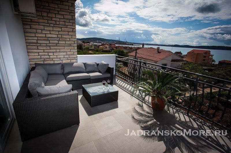 02 Seget Donji apartment terrace