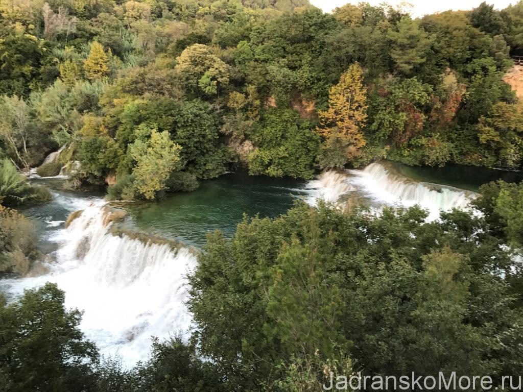 Отзыв об отдыхе в Хорватии в сентябре - Водопады Крка