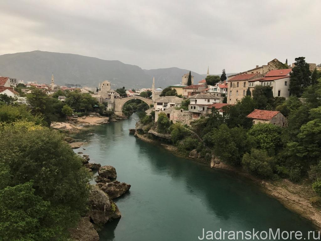 Отзыв об отдыхе в Хорватии в сентябре - БиГ, Мостар