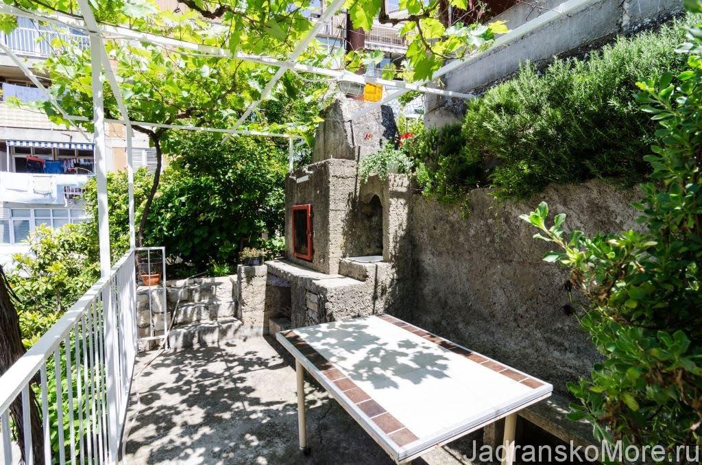 Dubrovnik apartment gril