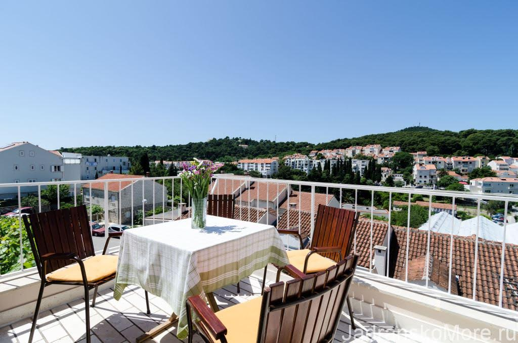 Dubrovnik apartment terrace