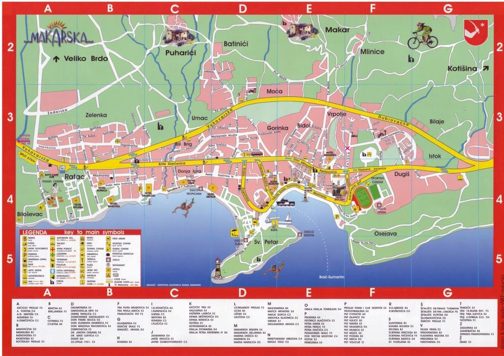 Карту можно получить в  туристическом офисе