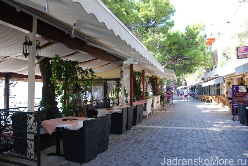 В Макарске легко выбрать ресторан по душе