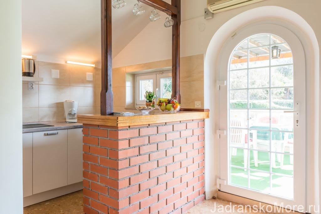Mlini apartment kitchen