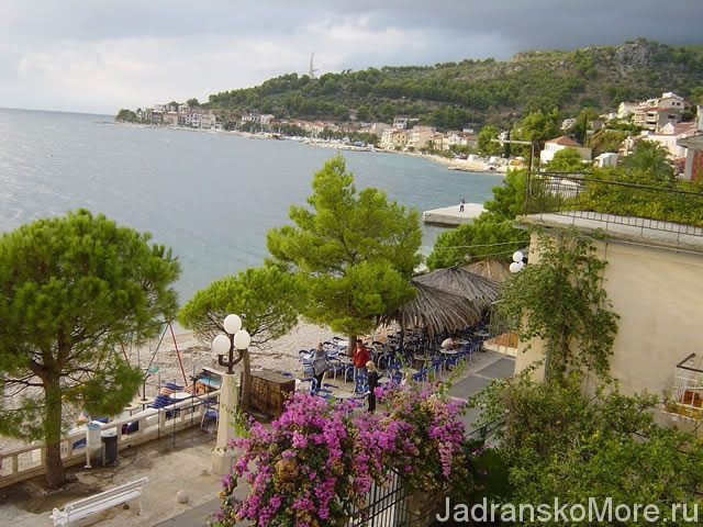 Podgora apartment balcony view 02