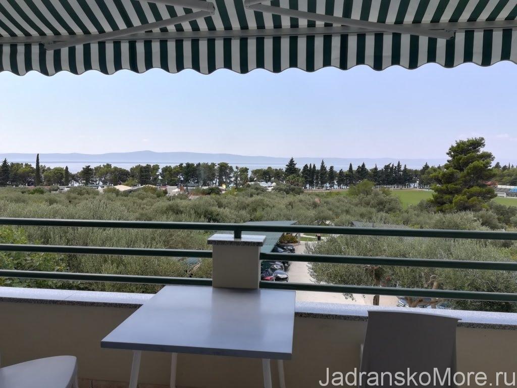 Тучепи - Вид с балкона