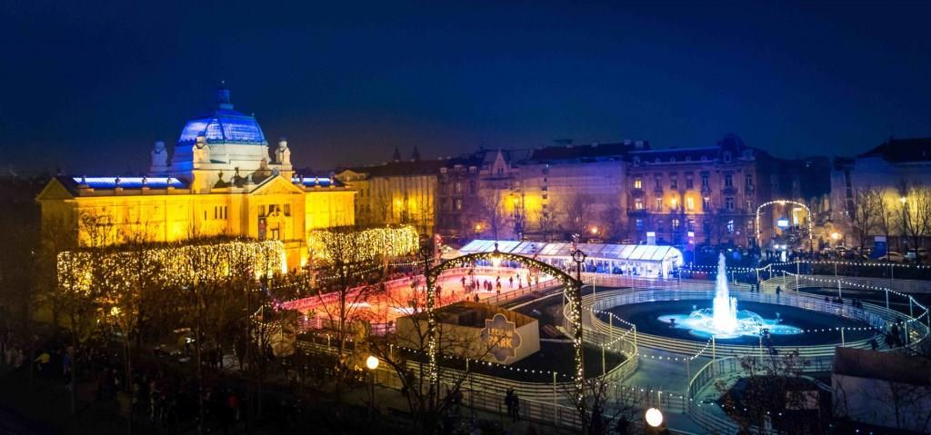 ice park Zagreb trg krlja Tomislava 2