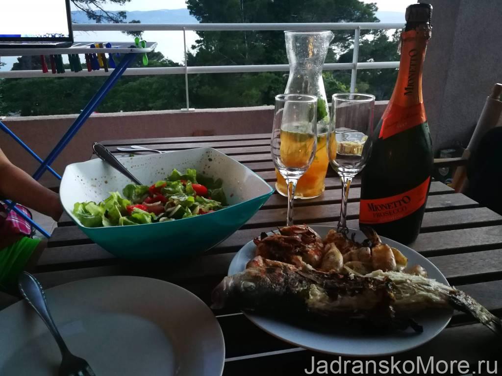 Отзыв об отдыхе в Бреле с видом на море