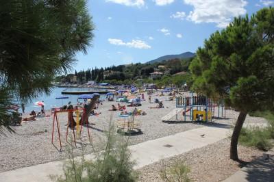 Пляж Ичицы возле Опатии