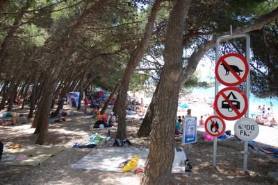 Нудисты на пляж не допускаются