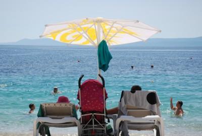 Пляж Златни Рат (Zlatni Rat) на Браче